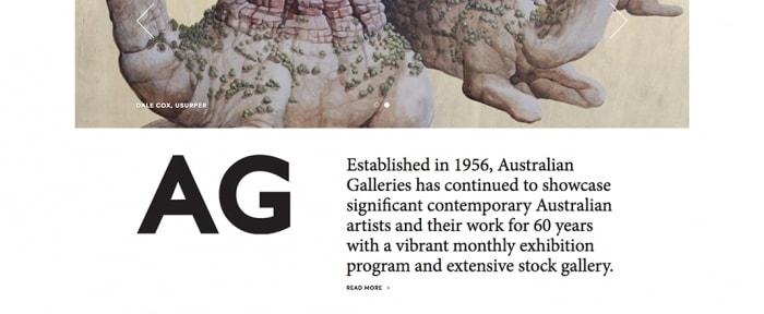 View Information about Australian Galleries