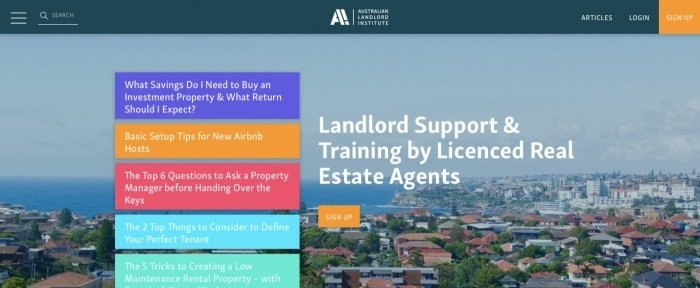 View Information about Australian Landlord Institute