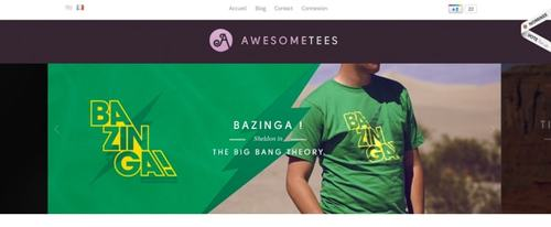 View Information about Awesometees