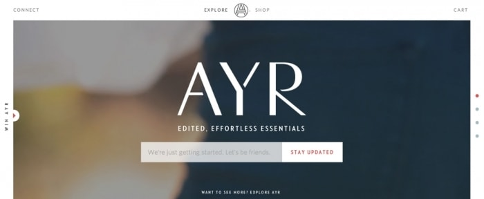 View Information about AYR