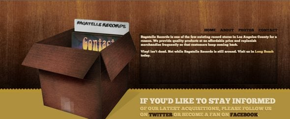 View Information about Bagatelle Records