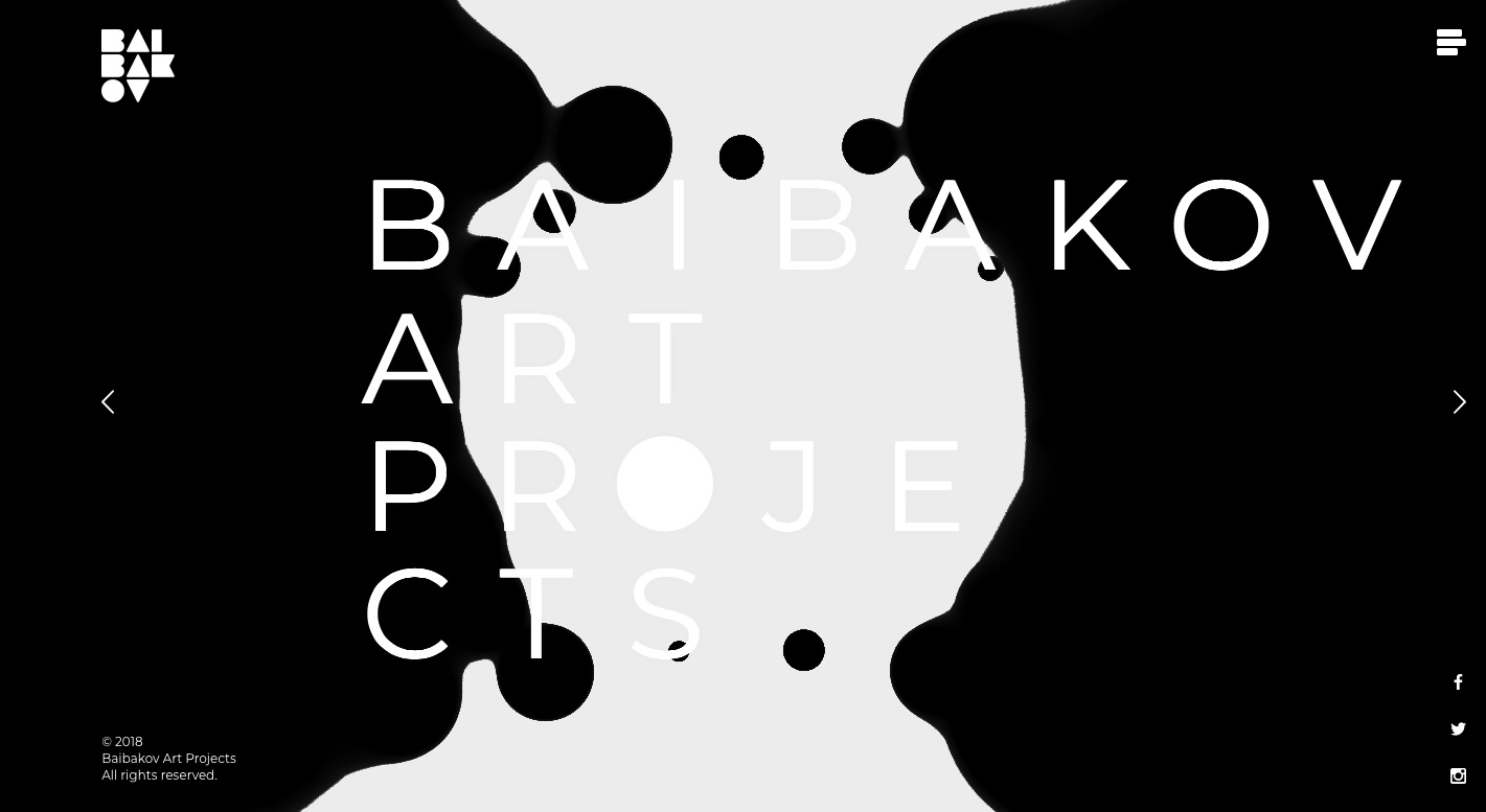 Go To Baibakov Art Projects
