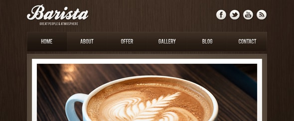 View Information about Barista Theme