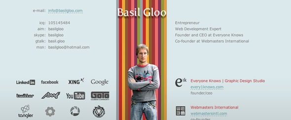 View Information about Basil Gloo
