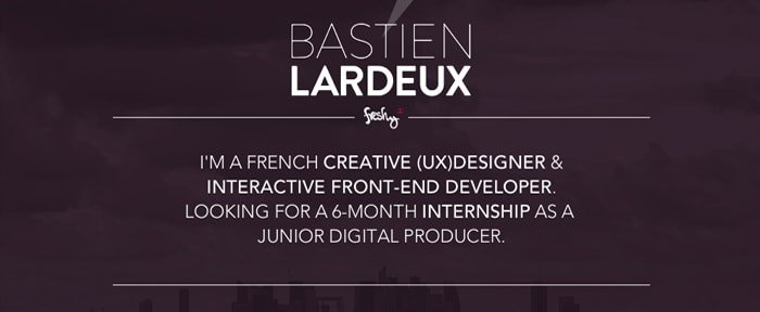 View Information about BastienLardeux