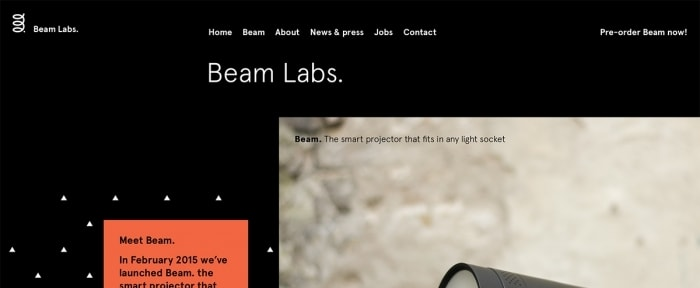 View Information about Bean Labs