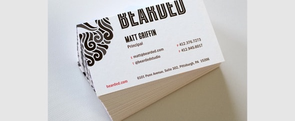 View Information about Bearded Business Cards