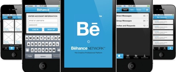 Go To Behance Concept