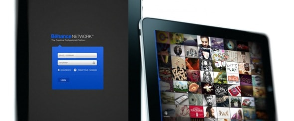 Go To Behance iPad App