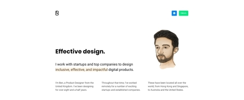 View Information about Ben Bate - Product Designer