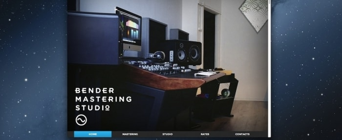 Go To Bender Mastering Studio