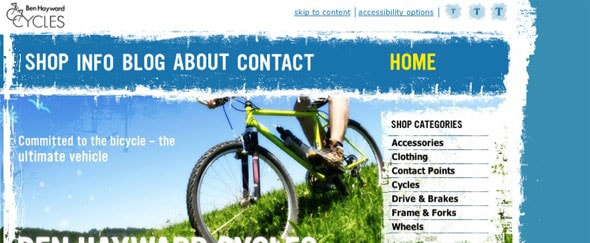 Go To Ben Hayward Cycles