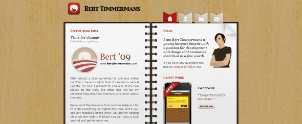 View Information about Bert Timmermans