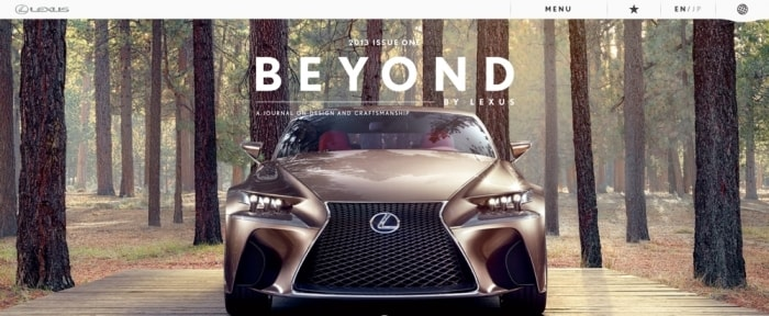 View Information about Beyond By Lexus
