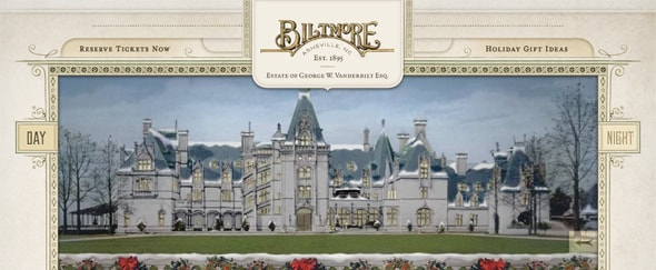 View Information about Christmas Biltmore