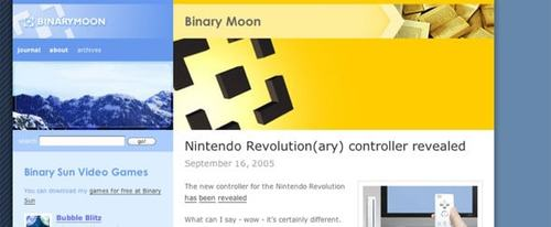 View Information about Binary Moon