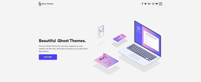 View Information about Biron Themes