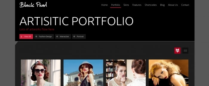 View Information about Black Pearl Responsive Theme