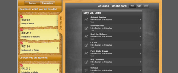 View Information about Blackboard Mobile for iPad