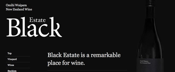 View Information about Black Estate