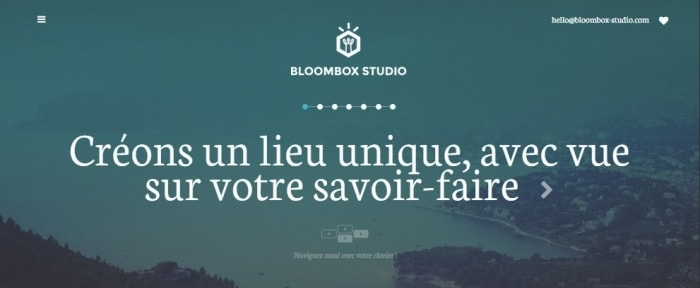 View Information about BloomBox Studio