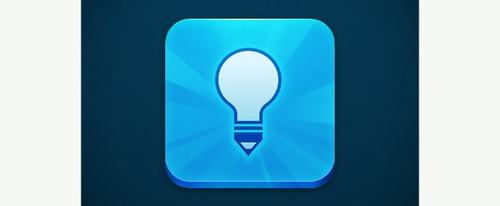 View Information about Blue Lightbulb Icon