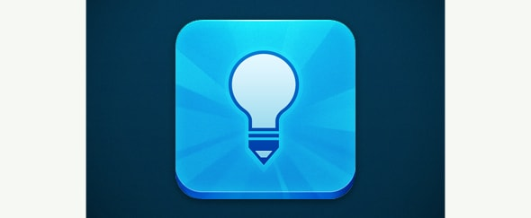 Go To Blue Lightbulb Icon