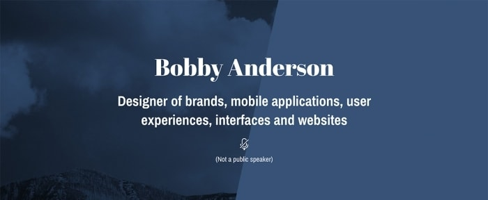 View Information about Bobby Anderson