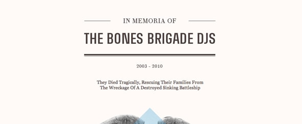 View Information about The Bones Brigade DJs