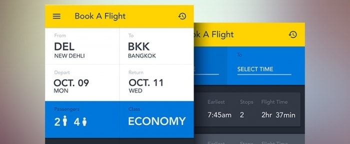 View Information about Booking App