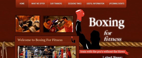 View Information about Boxing for Fitness