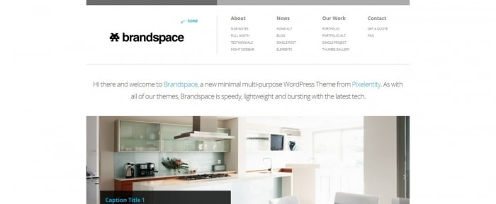 View Information about Brandspace Theme