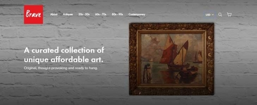 View Information about Brave Fine Art