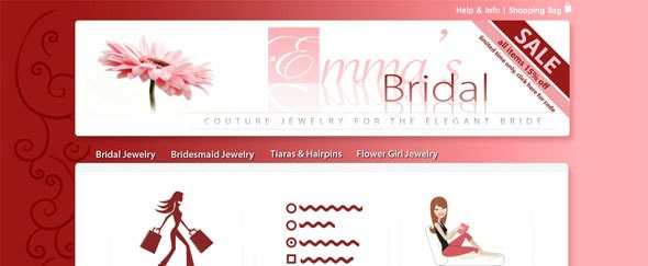 Go To Emma's Bridal Jewelry