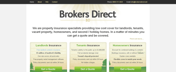 View Information about Brokers Direct