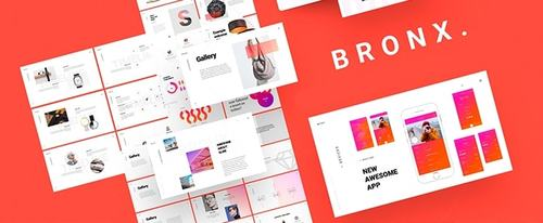 View Information about Bronx Powerpoint Template