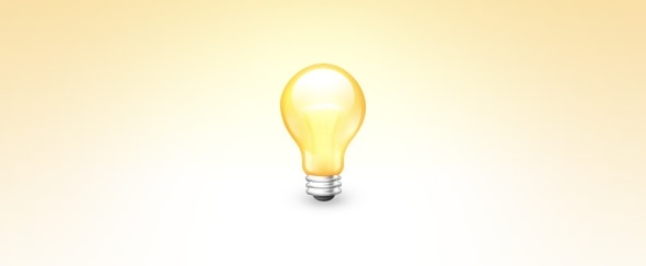 View Information about Bulb Icon
