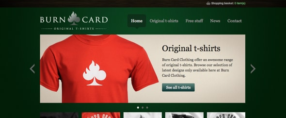 View Information about Burn Card Clothing