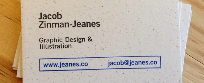 View Information about Business Card for Jacob