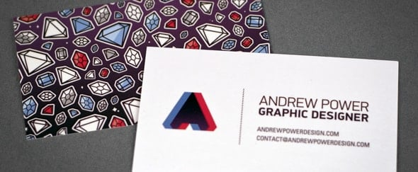 Go To Business Cards by Andrew Power