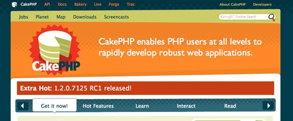 View Information about Cakephp
