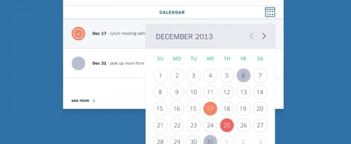 View Information about Calendar View