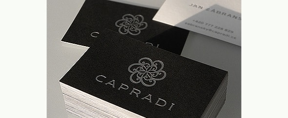 Go To Capradi Business Card