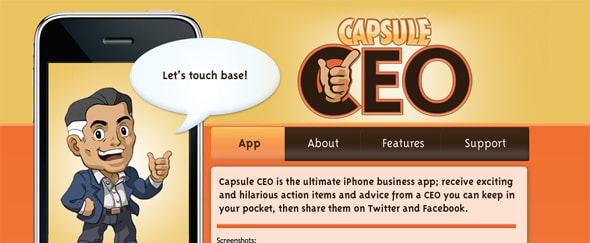 View Information about Capsule CEO