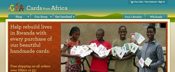 View Information about Cards From Africa
