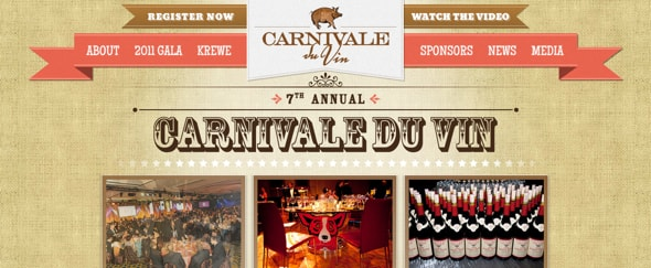 View Information about Carnivale du Vin 2011