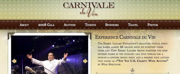 View Information about Carnivale Du Vin