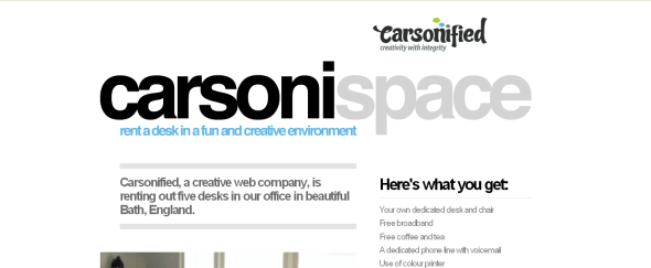 View Information about Carsonified