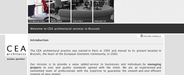 View Information about CE Architect