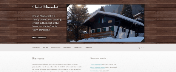 View Information about Chalet Minouchet